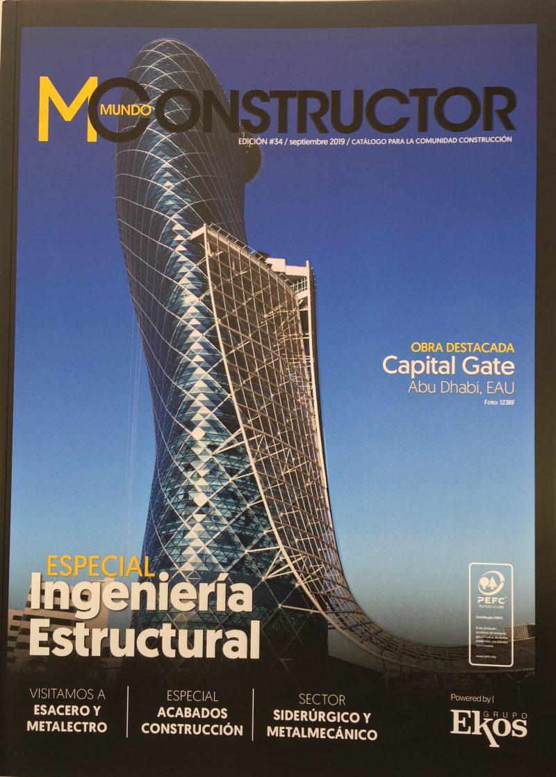 """ESPECIAL INGENIERIA ESTRUCTURAL ARTICULO """"ACTUALIDAD DE LA CONSTRUCCION EN LA COSTA"""""""